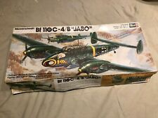 "RARE OLD EARLY MODEL KIT Revell 1/32 H-249 Messerschmitt Bf-110 C-4/B ""Jabo"