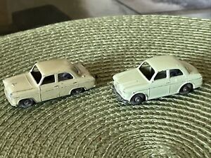 2 Matchbox Lesney No. 30 Ford Prefect  England 1:64 Scale & No 57 Wolseley