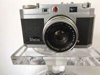 #Petri 2.8 Color Corrected Super Rangefinder 35mm Camera W/4.5cm (45mm) F2.8 870