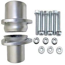 """Hedman Hedders 21152 3"""" Ball & Socket Style Mild Steel Collector Flange Kit"""