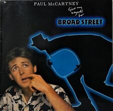PAUL McCARTNEY~GIVE MY REGARDS TO BROAD STREET~G/FOLD+INNER~1984 EEC VINYL LP
