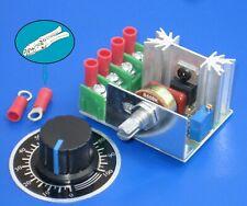 Power Regulator ╍ 240V, 2kW Load, 25 Amp SCR/Triac ╍ Heater, Motor Speed, Dimmer