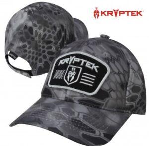 Kryptek Spartan Black Patch Camo Cap Hat $24.99