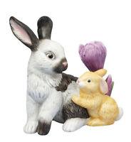Goebel Jahreshase 2011 Hasen mit Krokus limitiert 7500 St mit Zertifikat neu OVP