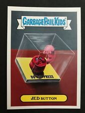 2017 Topps Garbage Pail Kids Series 1 Adam-Geddon #16a JED BUTTON Nuclear