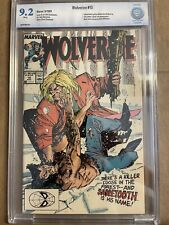 New listing Marvel Wolverine #10, Sabertooth and Silverfiox appear, Cbcs graded 9.2 Nm!