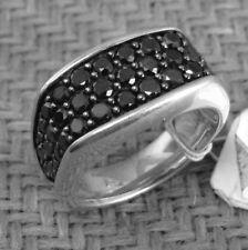 Ring With Black Diamonds retail $2100 New David Yurman Men'S Chevron Collection