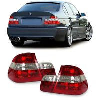 CLEAR TAIL LIGHTS FOR BMW E46 SEDAN 9/2001-2005 FACELIFT MODEL CHRISTMAS GIFT