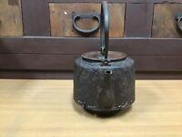 Y0430 TETSUBIN Kamashi tea pot maker Japanese Iron Tea Kettle Teapot antique