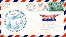 US First Flight, FAM 27, New York-Madrid 5/18/60 (10327)