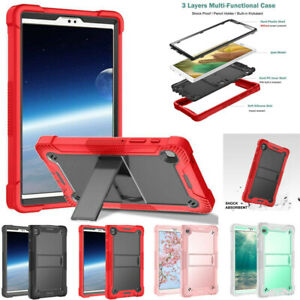"""For Samsung Galaxy Tab A7 Lite 8.7"""" T220 Heavy Duty Shockproof Stand Case Cover"""