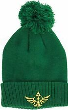 Nintendo ZELDA Skyward Sword Triforce Cuff Beanie Men Women Winter Knit Hat Cap