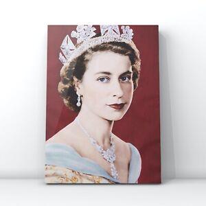 Celebrities canvas wall art  - Queen Elizabeth II