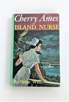 "Cherry Ames #21 ""Island Nurse"" by Helen Wells Hardcover 1960 Grosset Dunlap"