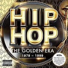 HIP HOP THE GOLDEN ERA 1979-1999 4CD NEW Public Enemy N.W.A Gift Idea