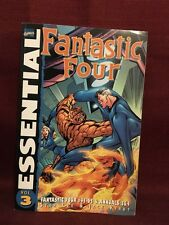Essential Fantastic Four Vol 3 Paperback Stan Lee Jack Kirby Marvel Comics