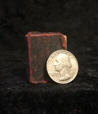 WORLD'S SMALLEST BIBLE King James Version NEW TESTAMENT Rare THUMB BIBLE Ripleys