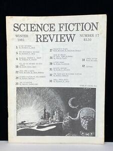 Vintage Original Science Fiction Review SFR Magazine Fanzine Zine 57 Winter 1985