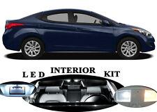LED Package - Interior + License + Vanity + Reverse for Hyundai Elantra (12 Pcs)