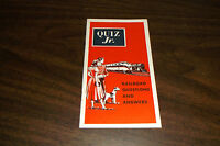 1950 ASSOCIATION OF AMERICAN RAILROADS RAILROAD QUESTIONS AND ANSWERS BOOKLET