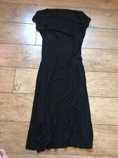 LADIES BLACK M&S SUMMER DRESS SIZE 10 New With Tag Unworn