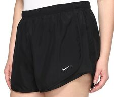 Womens NIKE Tempo shorts PLUS  Size 1X Track running 18 20 ALL BLACK