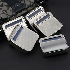 Metal Automatic Cigarette Tobacco Roller Roll Rolling Machine Box Case Tin SN