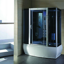 9007-WS Steam Shower Enclosure Sauna Whirlpool Touch Screen Computer Display