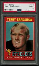 1971 TOPPS #156 TERRY BRADSHAW PSA 9 MINT STEELERS HOF ROOKIE HIGH END FOOTBALL