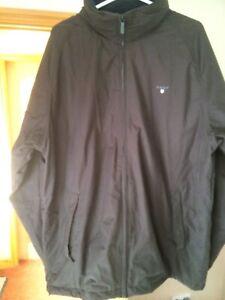 New Gant XL Thick Warm Green Winter Coat RRP £395