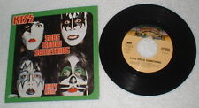 "KISS ""Sure Know Something"" Single Box Set Picture sleeve Aucoin Ace Peter Gene"