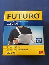 Futuro Arm Sling Pouch Adjustable Adult 46204 with comfort pad support