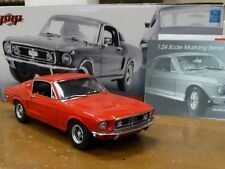 GMP Custom 1968 Ford Mustang GT Fastback Red 1:24 Scale Diecast #17 of 350 Car