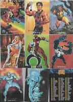 1992 Marvel Masterpieces Skybox Base Joe Jusko Singles You Pick NEW  FREE SHIP