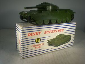 Dinky toys Military Army Centurion Tank #651 OUTSTANDING IN GREAT BOX