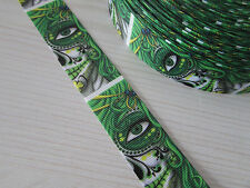 Tattoo/Los Muertos/Skul/Rose Grosgrain Ribbon 2.5cm x 1 Metre Sewing/Crafts/Cake