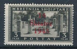 [30145] Albania 1943 Good stamp Very Fine MH