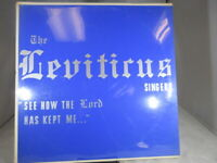 """The Levitirus Singers """"See How the Lord Has Kept Me"""" LP Sealed M cover NM/M"""