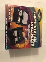 game System Organizer (game Stuff)For N64 PlayStation1,2, Dreamcast.Open Box New
