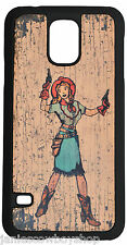WESTERN 3D CELL PHONE CASE GALAXY S5 RETRO COWGIRL ACCESSORY RODEO GUNS BOOTS