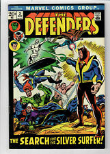 """DEFENDERS #2 - Grade 8.5 - """"The Search for the Silver Surfer!"""""""