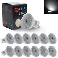 Pack of 12 7W SMD LED GU10 Spotlight Light Bulbs Lamp Cool White Daylight 6500K