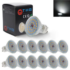 Pack of 12 7W SMD LED GU10 Spotlight Light Bulbs Lamp Cool White Daylight 6500K