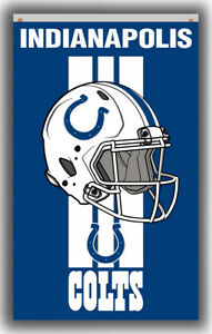Indianapolis Colts Football Team Memorable Flag 90x150cm 3x5ft Best banner