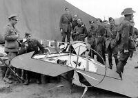 1918-Remainsof Red Baron's Triplane-Baron von Richthofen-Shot down by Australian