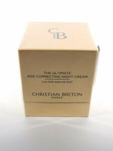 Christian Breton The Ultimate Anti Ageing Luxury Age Correcting Night Cream 50ml