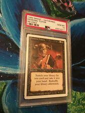 MTG Revised Demonic Tutor PSA 10 Gem Mint Magic the Gathering 1994 Card New