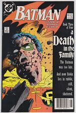 Batman #428 NM- 9.2 Jim Starlin Death In The family!