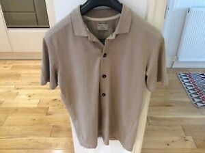 Men's Selected Homme Buttoned Styled Top Size M