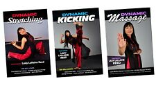 3 Dvd Set Martial Arts Training flexibility, kicking with Lady Lallaine Reed
